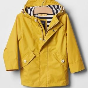 HP!💕Gap Toddler Jersey_lined Raincoat  size 2 yrs